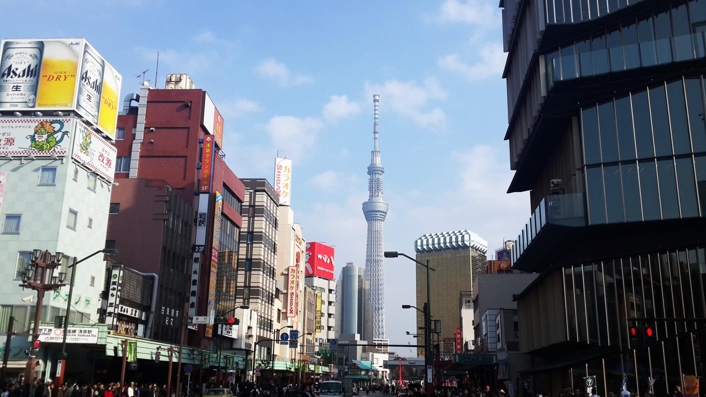 Asakusa'dan Tokyo SkyTree