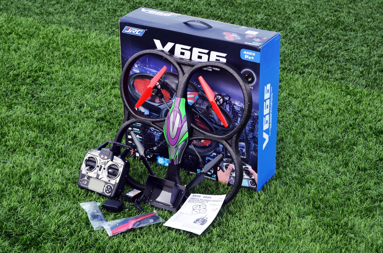 WLToys V666 kutu içeriği