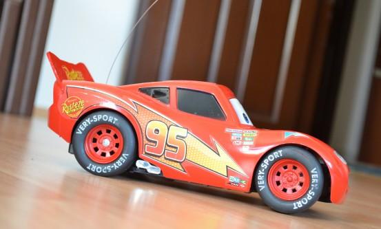 Lightning McQueen evde