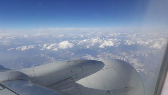 Moğolistana giderken havadan