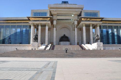Cengiz Han/Suhbaatar Meydanı