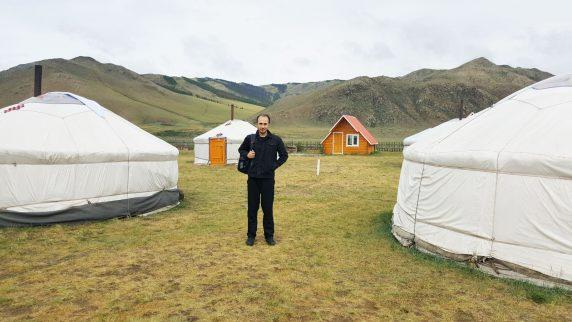 Moğol çadırı ger (yurt)