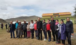 Anar kampında Moğollarla