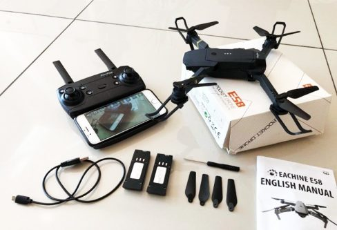 Eachine E58 Drone Quadcopter WIFI FPV