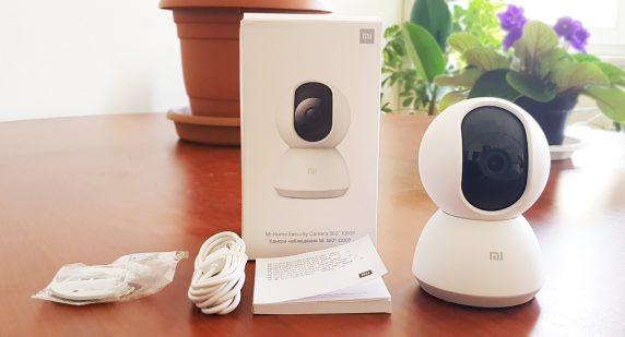 Xiaomi Mi Home 360 Kamera Kutu İçeriği