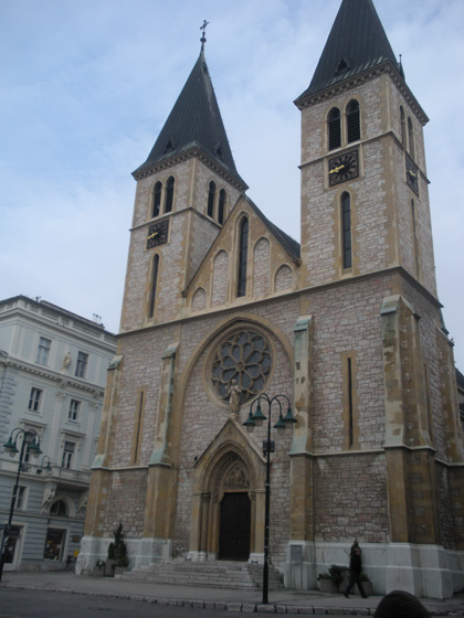 Saraybosna Katedrali - İsanın Kalbi