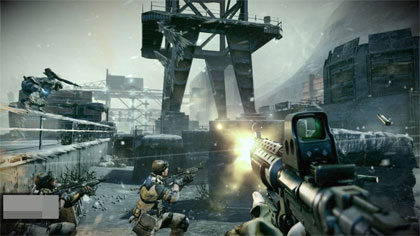 Killzone 3 gameplay screenshot