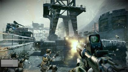 Killzone 3 gameplay screenshot