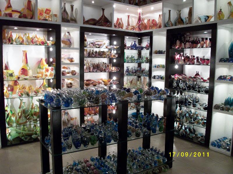 Mdina Glass dükkanı