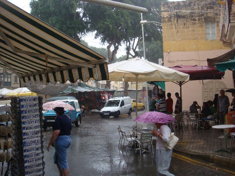 Victoria - Rabat, Gozonun merkezi