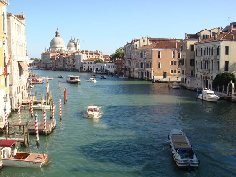 Akademi Köprüsünden Grand Canal