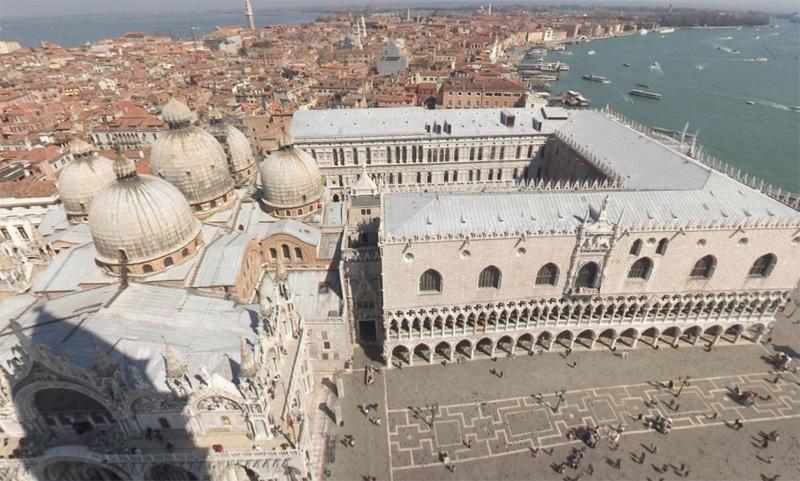 San Marco Kulesinden manzara