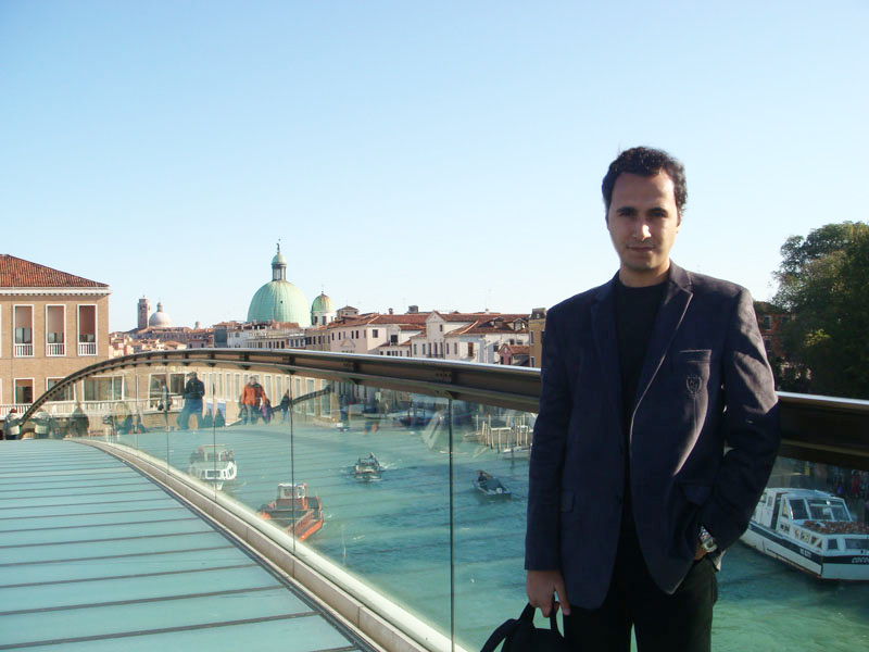 Venedik'in girişi Piazzale Roma