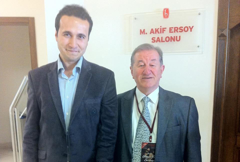 Prof. Dr. Osman Fikri Sertkaya ile birlikte
