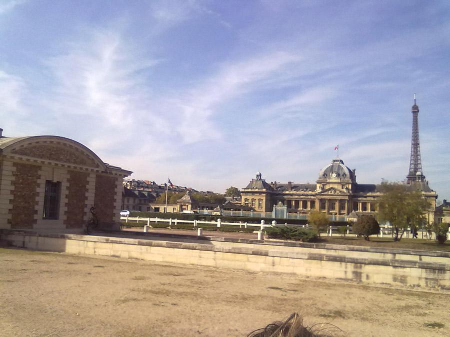 Paris Askeri Okulu civarından