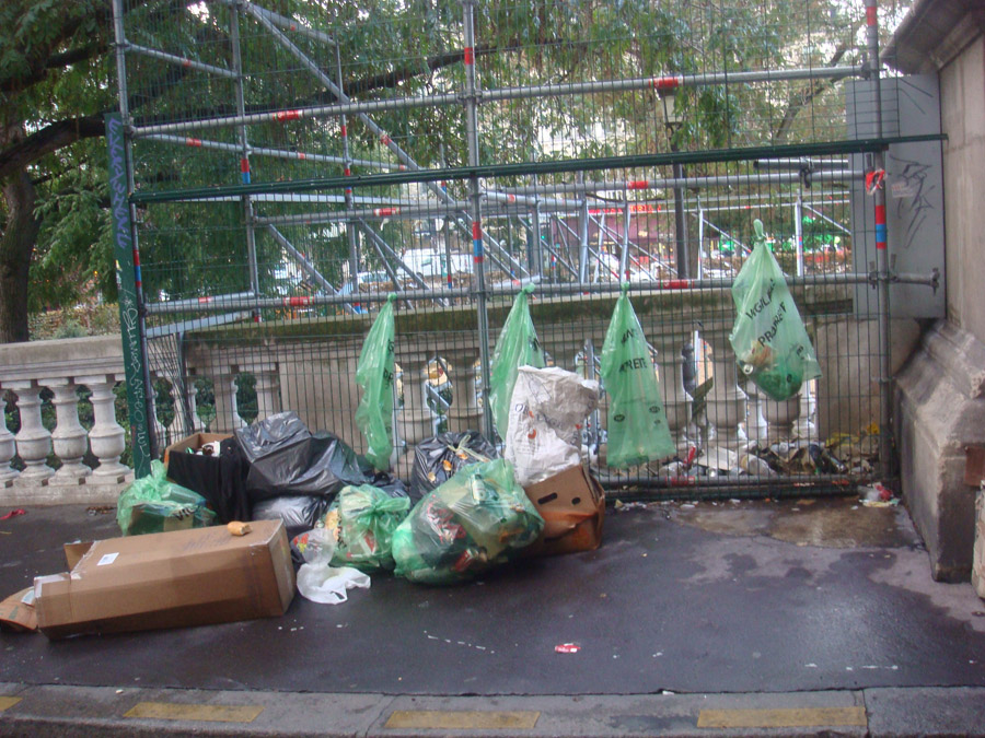 Paris çöplüğü