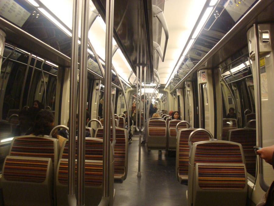 Paristen Metro ve RER fotoğrafları