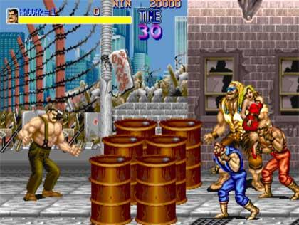 Bir zamanların en çok oynanan oyunlarından Final Fight, nâm-ı diğer Haggar